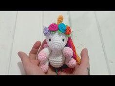 #bebeunicornio #amigurumicrochet #unicorniocrochet #unicorncrochet #unicornio #crochet ULTIMO VÍDEO Reto Crochetero: Pequeño Bebe Unicornio o Pegaso Amigurumi tejido a Crochet - YouTube Crochet Animals, Crochet Toys, Amigurumi For Beginners, Amigurumi Tutorial, Easy Crochet Patterns, Amigurumi Doll, Hobbies And Crafts, Crochet Projects, Sewing Crafts