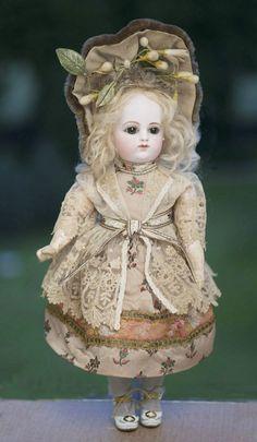 "13"" (33 cm) Adorable Rare Antique French FG bebe doll"