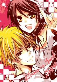 "Kaichou wa Maid-Sama - Ayuzawa Misaki is the student council president of the former all-boy school, Seika High School. In order to protect the girls, she battles the boys everyday. On the other hand, she secretly works at a ""Maid Cafe"". But a popular boy from school, Usui Takumi, found out! Living in between the double identity of a Maid and a student council president~ free manga scans online"
