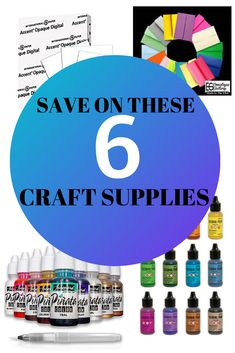 Crafting can be expensive so any chance we have to save a few dollars, we should take it. In this video I will compare some less expensive options for popular craft supplies Popular Crafts, Collor, Markers, Saving Money, Card Stock, Craft Supplies, Alternative, Alcohol, Crafting
