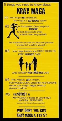 5 things you need to know about Krav Maga                                                                                                                                                     More