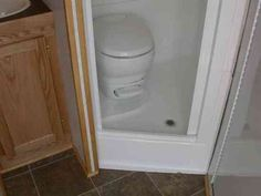 RV Shower Toilet Combo Kit | RV Toilet Shower Sink Combination http://www.doubledtrailers.com ...