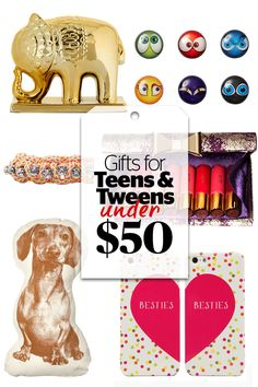 Fabulous Gifts for Even the Pickiest Teens & Tweens -- ALL Under $50