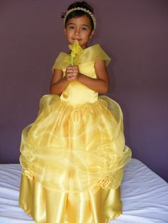 PRINCESS BELLE COSTUME sizes 2t 5 by DIPdesigns on Etsy, $89.00
