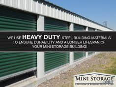 Mini Storage Outlet Supplier of Mini Storage Buildings, Self Storage Units and Storage Building Kits. We offer the Lowest Prices on Prefab Storage Buildings! Self Storage Units, Built In Storage, Storage Building Kits, Storage Buildings, Prefab, Real Estate, Construction, The Unit, Steel