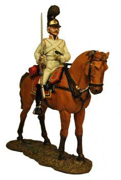 Кавалерист Кавалергардского полка, Россия 1805 г. Trooper, Russian Guard Cavalry, Del Prado Cavalry №40