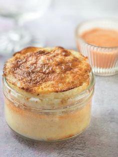 Soufflé de St Jacques sauce aux écrevisses - Recette de cuisine Marmiton : une recette