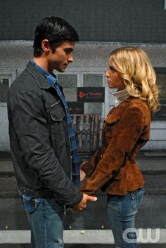 """""""In The Beginning"""" -Matt Cohen as John Winchester and Amy Gumenick as Mary Winchester"""