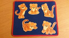 """Deep in the Jungle (Tiger Version) I have used """"Deep in the Jungle"""" for a Lion theme d toddler program and I didn't want to do th. Flannel Board Stories, Felt Board Stories, Felt Stories, Flannel Boards, Preschool Circus, Preschool Jungle, Preschool Songs, Preschool Curriculum, Toddler Themes"""