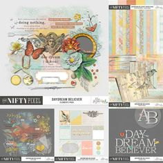 DAYDREAM BELIEVER | Collection DOWNLOAD INCLUDES:  45+ Elements 16X Patterned Papers 6X Grungy Wood & Paint Textured Papers + (2X Extra Blended papers not on preview) 6X Textured Solid Papers 1X Alpha (Includes Inverted Flair Elements to embellish your titles) 1X Bits & Bobs Collection of goodies 1X Pack of Journal Crads includes (9X Unique designs in 3X4 + 4X6 Versions + Printables) All products are saved at 300ppi for optimum printing quality.