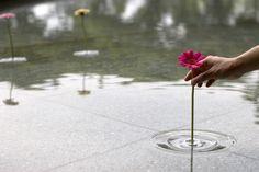 floating vase