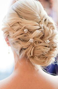 pins, pearl, beauty, updo, accessories, elegant