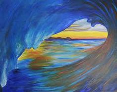 images of wave paintings - Google Search