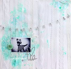 I love us . Scrapbooking layout . Àurea Estellé
