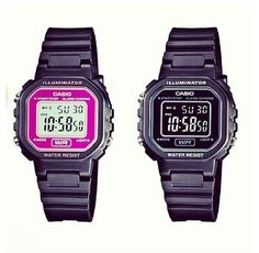 Casio in pink and black