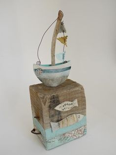Little Boat Afloat - Shirley Vauvelle #RedsGreatBritishSeaside