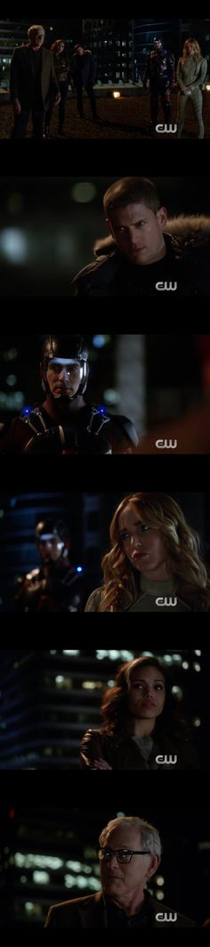 DC Legends of Tomorrow; villains and heroes recruited to save the future of the planet.