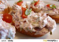 Czech Recipes, Ethnic Recipes, Baked Potato, Potato Salad, Food And Drink, Toast, Potatoes, Chicken, Baking