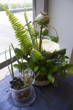 Sculptural floral ar