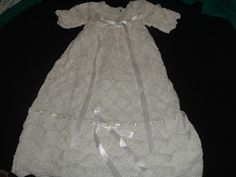 Knitting patterns on Pinterest Christening Gowns, Baby ...