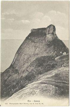 Marc Ferrez: Pedra da Gávea (Rio de Janeiro) 1900's