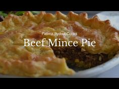 BEEF MINCE PIE - YouTube Mince Pies, My Cookbook, Beef Recipes, Easy Meals, Cooking, Desserts, Food, Youtube, Meat Recipes