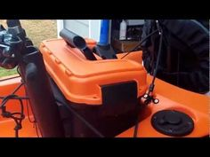 Kayak Fishing Accessories Showing how I made my freshwater fishing crate for my Wilderness Tarpon 120 - Kayak Fishing Tips, Kayaking Tips, Fishing 101, Kayak Camping, Fishing Boats, Canoe Boat, Canoe And Kayak, Kayak Crate, Kayak Accessories