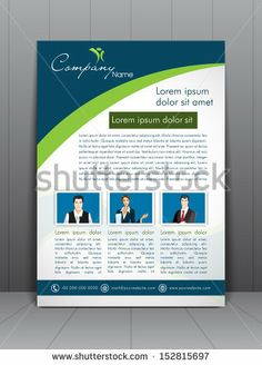 Professional business flyer template or corporate banner design, can be use for publishing, print and presentation by Allies Interactive, vi...