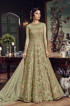 B4UFashion Present  Green Partywear Nylon Net Anarkali Salwar Suit For Order 📲9033763613 📲07572803833   🌍🌍Worldwide Delivery🌍🌍  #anarkalisuit #anarkali #Dress #salwaarsuit #lehengacholi #lehenga #saree #indianfashion #indianwear #indianwedding #bridalfashion #bollywoodstyle #ethincfashion #fashion #sareelove #indianfashion #weddinginspiration #beautifulbride #wedding #shopping #b4ufashion #indianfashionblogger