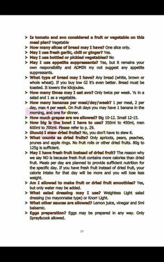 28 Dae Dieet, Diet Tips, Diet Recipes, 28 Days, Fresh Garlic, Slice Of Bread, Eating Plans, Meal Planning, How To Plan