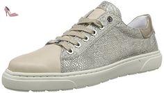 ara  Toronto, Derby femme - Gris - Grau (natur,chiara/platin 05), 36.5 - Chaussures ara (*Partner-Link)