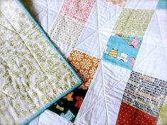 Baby Quilt  Lucy's Crab Shack by Sweetwater 40 x 50, $125.00