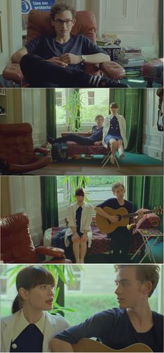 """God Help the Girl"" music by Belle and Sebastian, starring Emily Browning and Olly Alexander."