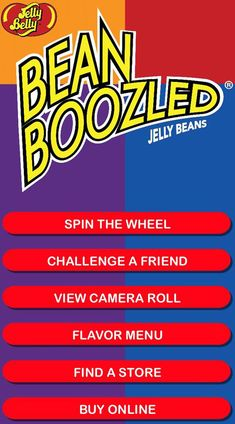 Who says you can't play with your food? Download the FREE BeanBoozled App and play anytime, anywhere. Available on the App Store and Google Play.