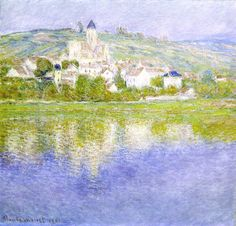 Vetheuil, Pink Effect by Claude Monet Completion Date: 1901