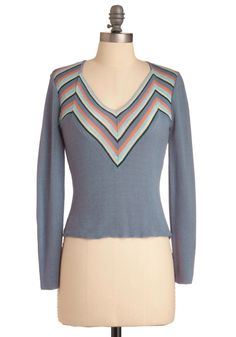 Vintage V is for Vail Sweater