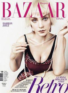 Harper's Bazaar España, March 2012 #cover   Jessica Stam by Txema Yeste