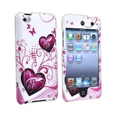 Butterfly Heart 2d Hard Snap-On Crystal Skin Case Cover Accessory For... ($1.92) ❤ liked on Polyvore