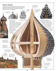 How do you build an onion dome ? Like on St Basil's Cathedral in Red Square?