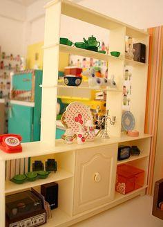 vintage Sindy cabinet. by beastiegirls