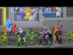 We're Shell-Shocked by These Glorious TMNT Figures Inspired by Konami's Classic 1989 Arcade Game - Cheezburger