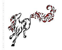 83 Melhores Imagens De Cavalo De Fogo Cavalos Fogo E Arte Cavalo