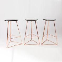 copper stool TRI650 STOOL