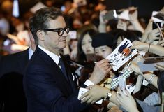 Colin Firth Photos - Colin Firth attends the red carpet of the 'Kingsman: The Golden Circle' Seoul Premiere on September 20, 2017 in Seoul, South Korea. - 'Kingsman: The Golden Circle' Seoul Premiere