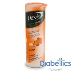 Geiss Destin & Dunn - PD51091 - Dex 4 Glucose Tabs, Orange
