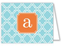 A full collection of fun monogram products by RosanneBECK Collections!