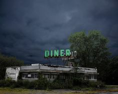 Old diner in Whitehouse, New Jersey.