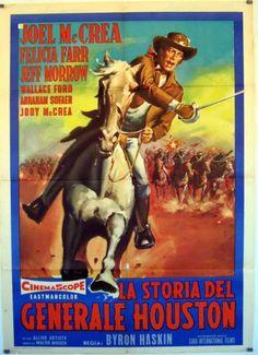 Film in la storia del generale houston Felicia Farr, Houston, Western Horseman, Predator Alien, Western Movies, Le Far West, Action Movies, American Actors, Westerns