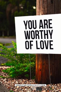 """""""You are worthy of love."""" Inspirational quotes and simple life lessons to live your best life, including how to have faith, think positive, communicate, make friends, be patient, and find love. Click to read more about these simple things to remember in life. . . . . #inspirational #inspirationalquotes #quotesinspirational #quotestoinspire #quotes #quotesaboutlife #lifequotes #wordstoliveby #wordsofwisdom #selflove #selfcare #love #loveyourself #lovequotes"""