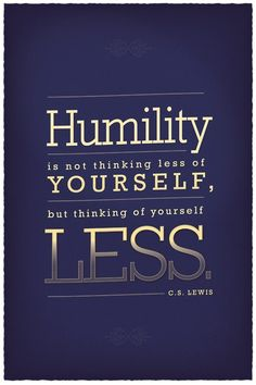 Seriously. C.S. Lewis got it.